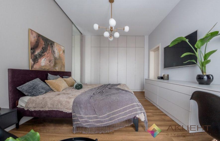 спальня с дизайном 01-1