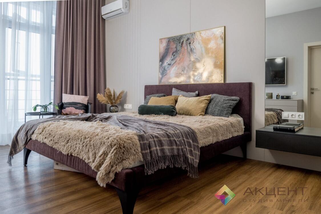 спальня с дизайном 01-3
