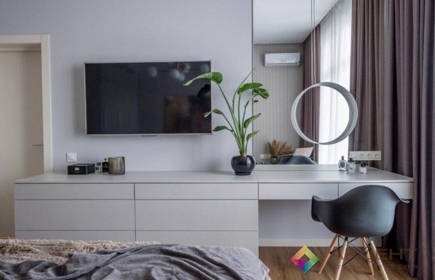 спальня с дизайном 01-5