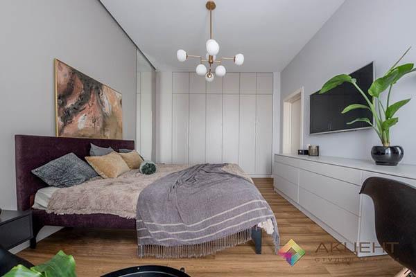 спальня по дизайн проекту