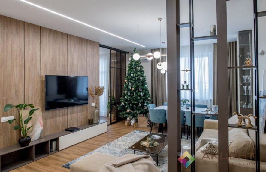 гостиная по дизайн-проекту 01-1