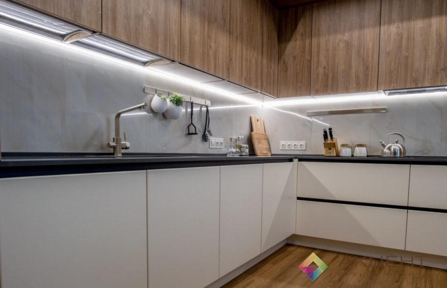 кухня по дизайн-проекту 01-4