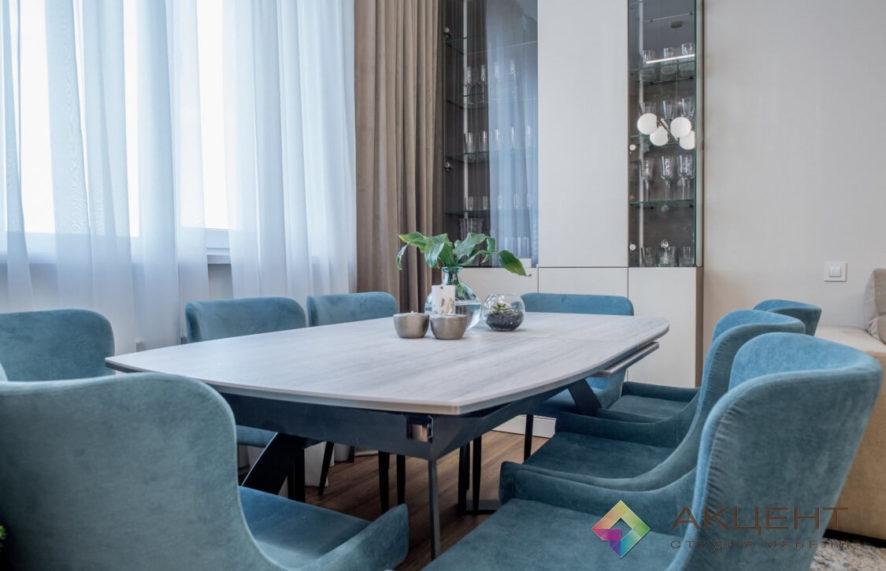 гостиная по дизайн-проекту 01-6