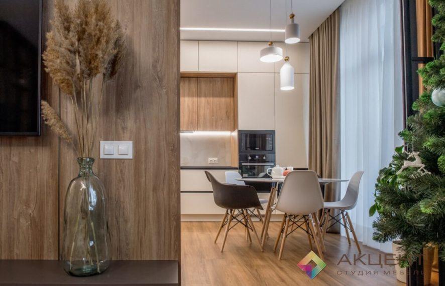 кухня по дизайн-проекту 01-7