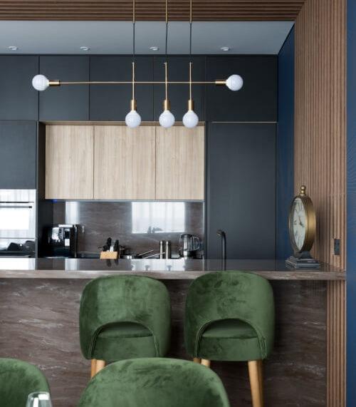 мебель для квартиры-студии по дизайн-проекту 08