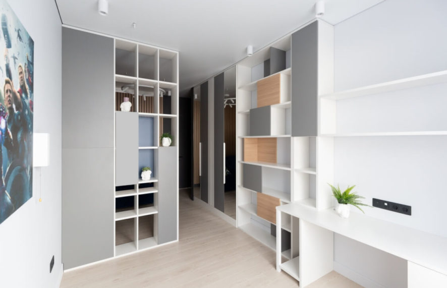 мебель для квартиры-студии по дизайн-проекту 03