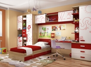 детская кровать 116а