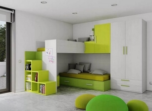 детская кровать 123а