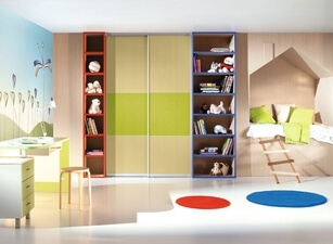 детский шкаф 111а