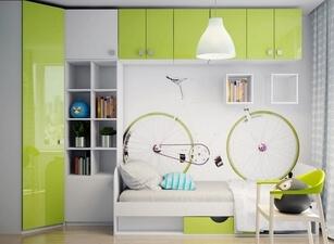 детский шкаф 117а