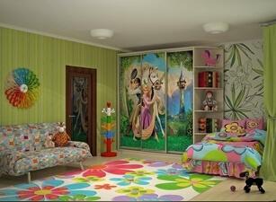 детский шкаф 135а