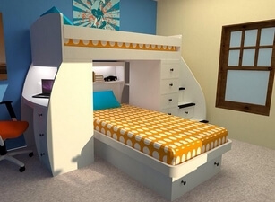 двухъярусная кровать 109а