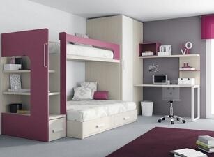 двухъярусная кровать 127а