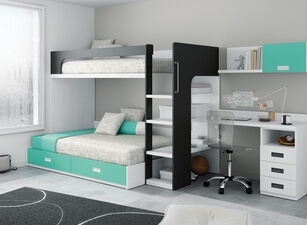 двухъярусная кровать 128а