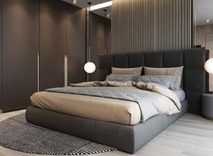 кровать мягкая 101а