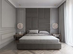 кровать мягкая 103а