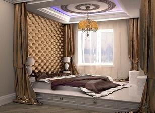 кровать мягкая 105а