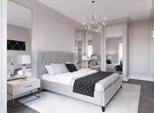 кровать мягкая 109а