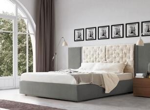 кровать мягкая 118а