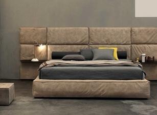 кровать мягкая 123а