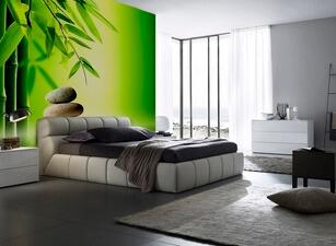 кровать мягкая 124а