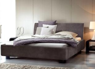 кровать мягкая 125а