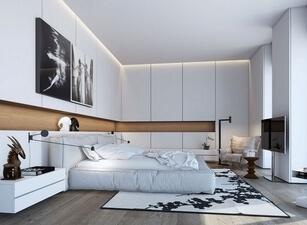 кровать мягкая 134а