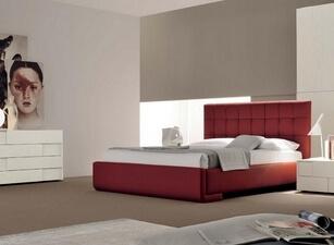 кровать мягкая 135а