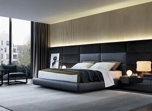 кровать мягкая 140а