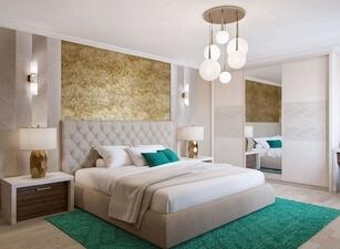 кровать мягкая 144а