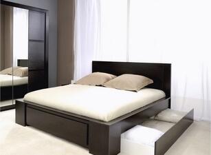 кровать с ящиками 114а