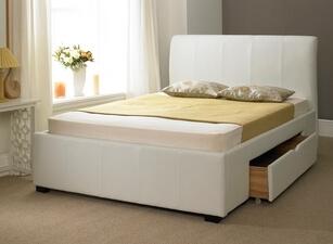 кровать с ящиками 117а