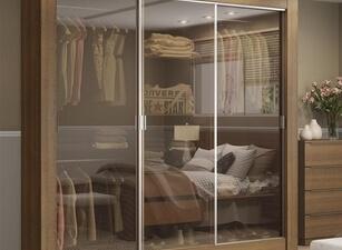 шкаф-купе со стеклом 138а