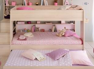 Кровать трехъярусная 102а