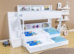Кровать трехъярусная 103а