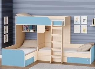 Кровать трехъярусная 104а
