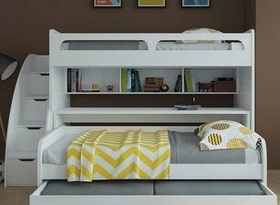 Кровать трехъярусная 109а