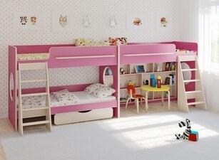 Кровать трехъярусная 113а