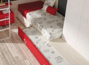 Кровать трехъярусная 116а
