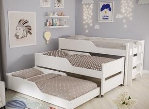 Кровать трехъярусная 119а