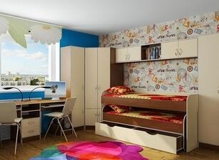 Кровать выдвижная 104а