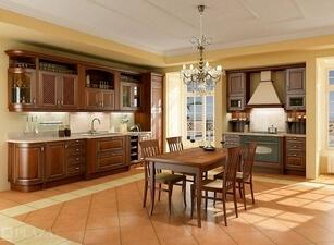 Кухня из массива 110а