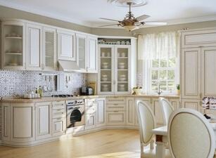 Кухня из массива 114а