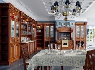 Кухня из массива 117а