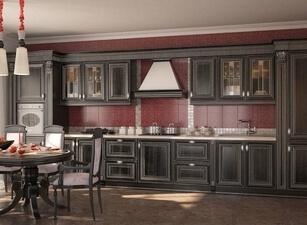 Кухня из массива 123а
