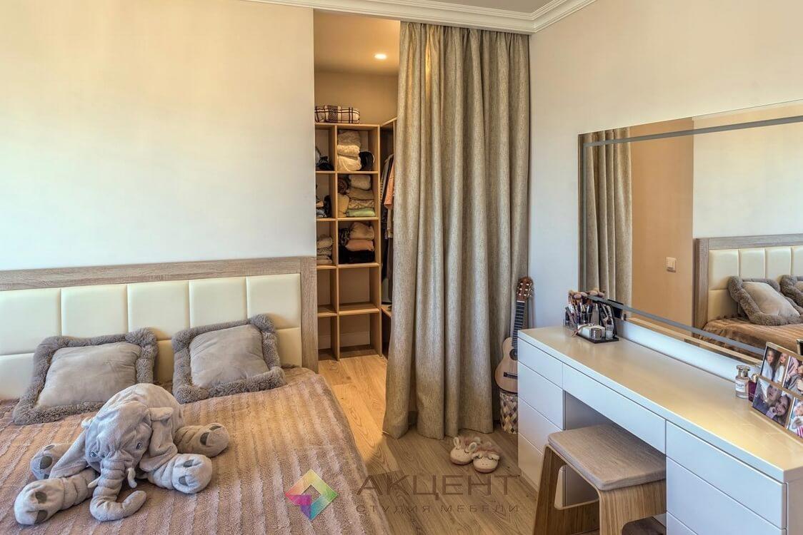 мебель для однокомнатной квартиры по дизайн-проекту 06