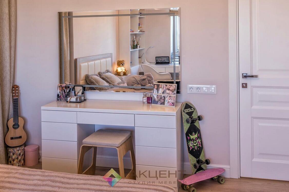 мебель для однокомнатной квартиры по дизайн-проекту 07