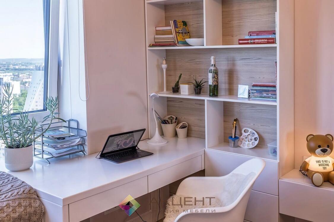 мебель для однокомнатной квартиры по дизайн-проекту 09