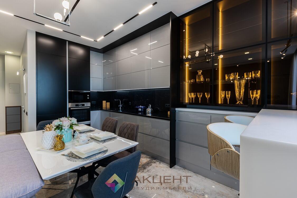 мебель для квартиры-студии с гардеробной 09
