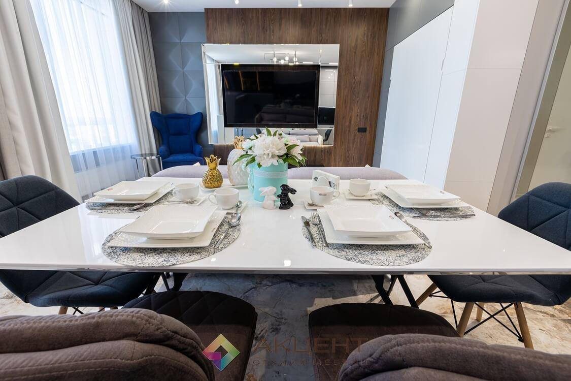 мебель для квартиры-студии с гардеробной 14